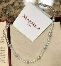 Majorica Pearl & Crystal Necklace (Retail $125)