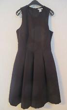 H&M ° chices Kleid Gr. 38 schwarz Damen Mode Kleidung Trägerkleid Abendkleid