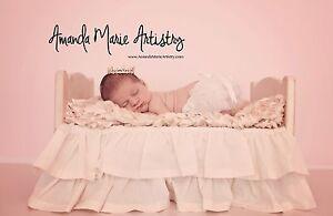Mini Tiara Crown for Newborn -Baby Photo Prop Crystal Rhinestone Gold Short 4044