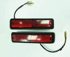 82-83 Honda Accord Rear Marker Lamps Pair LH RH