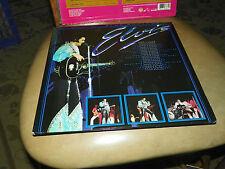 Elvis Presley Blue Rhythms Blue Vinyl 2 LP Harvest Records WITH FREE SHOWROOM LP