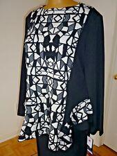NWT Artex colourblock jersey sweater/tunic sz 2X 22W md in Canada