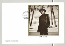 Tanzania #1313 John Lee Hooker, Music 1v Imperf S/S on FDC