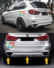 SPOILER SOTTO PARAURTI POSTERIORE BMW X5 F15 DESIGN M - 3 PEZZI SOLO PARAURTI M
