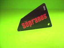 Stern SOPRANOS Original NOS 2005 Pinball Machine Promo Plastic KeyChain KF-3