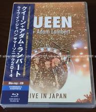 New QUEEN Adam Lambert Live in Japan Summer Sonic 2014 Blu-ray+CD GQXS-90248 F/S
