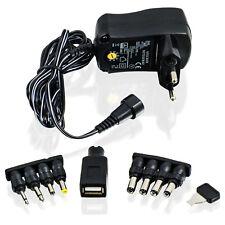 CSL Universal Netzteil 3 / 4,5 / 5 / 6 / 7,5 / 9 / 12V AC/DC 1A | Reiseadapter