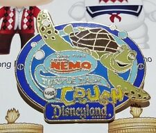 Finding Nemo Crush Turtle Talk Disneyland Pin Badge Disney Pixar AAA Vacations