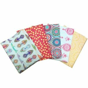 New Delhi Patchwork Quilt kit- FQ pack backing wadding info sheets free P&P