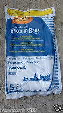 vacuum bag fit Samsung Canister 3500 5900 6300 Bissell VP-95 VP95B 603-2000