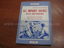 LIBRO MANUALE IMPIANTI IGIENICI PER INSTALLATORI EDIZIONE V LAVAGNOLO USATO