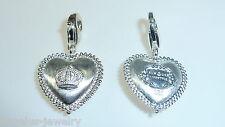 Alraune, Herz mit Krone, 925 Silber Charm