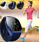 M26 Bluetooth Smart Watch Phone Mate Waterproof Sport WristWatch For IOS Android