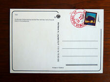 RARE World Trade Center Postcard, Post Marked, Stamp Canceled on 9/11 New York.
