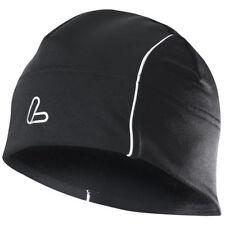 Abbiglimento sportivo da uomo nere in nylon con tasche