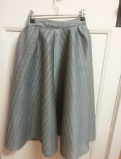 "Mossman Midi(ball Gown)""mademoiselle "" Skirt.Size 6.Silver/grey Colour.Like New."
