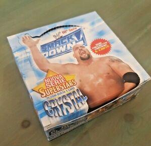 SMACK DOWN RAW III SERIE WRESTLING BOX 24 PACKS BUSTE TESLA CARD NUOVO CARTE TCG