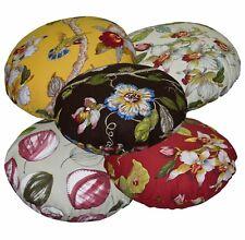 ai+5 Plant Pattern High Quality Cotton Round Shape Cushion Pillow Cover Custom