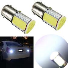 2x HID White BA15S 1156 P21W 42-chips 4 COB LED Bulb Fr Car Backup Reverse Light