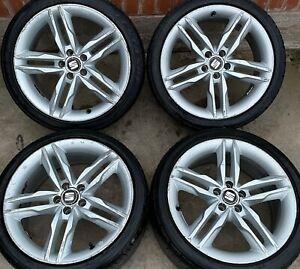 Seat Ibiza FR 17 inch Alloy Wheels 5 x 100 Audi A1 MK4 Volkswagen Golf