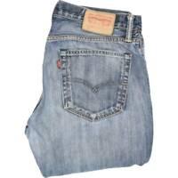 Levi's 527 Men Blue Bootcut Regular Jeans W33 L32 (46154)