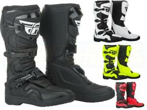 NEW Fly Racing Maverik Boots ADULT - Motocross Boot Molded Sole Off-Road ATV MX