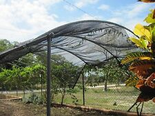 Agfabric 40% Sunblock Shade Cloth for Plant Cover Greenhouse Barn 8Ft x 12Ft