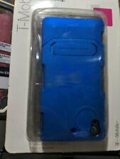 T-Mobile Elite Stand Body Glove Case Sony Xperia Z1s Color Blue New