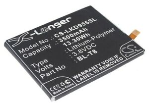 Replacement Battery For Land LG 3.8v 3500mAh / 13.30Wh Mobile, SmartPhone Batter