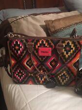 consuela leather tote backs w/ shoulder strap