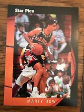 1991 Pro Prospects Star Pics Marty Dow San Diego State 35