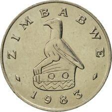 [#463963] Munten, Zimbabwe, 20 Cents, 1983, FDC, Copper-nickel, KM:4
