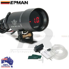 Boost Gauge EPMAN 37mm Compact Micro Digital Smoked Lens  Universal Fit