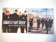 Unique Lot de 2 CD Single ▬ BACKSTREET BOYS ▬ Port GRATUIT