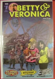BETTY VERONICA 1 NDC KENNYWOOD 3 RIVERS CON VARIANT COMIC SIGNED HACK 2017 NM