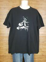 Air Jordan Jumpman Black Graphic Short Sleeve T-Shirt Mens Size 3XL