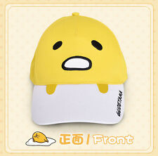 Baseball Cute Hat Cosplay Kids Gifts Gudetama Yellow Funny Cap Student Outdoor