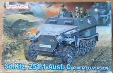 Dragon 1/35 Sd.kfz, 251/1 Ausf. C Rivetted Version