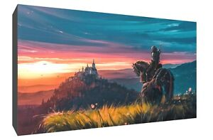 The Witcher 3 Wild Hunt horse canvas wall art Wood Framed Ready to Hang XXL