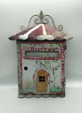 """Vintage Box the Letters """" Home """" Popular Art, Coin Single"""