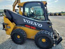 Used 2014 Volvo Mc115c Skid Steer Loader New Tires