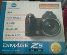 【MINT】KONICA MINOLTA Dimage Z5 Digital Camera W/Box & all accessories included.