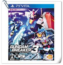 PSV Gundam Breaker 3 ENG / 高達破壞者3 中文 / JAP SONY VITA Bandai Namco Games Action