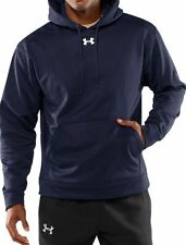 UNDER Armour XL Blue HOODIE Panthers MENS Hooded SWEATSHIRT Size 1000432 Fleece*