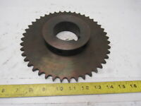 "#50 Roller Chain Sprocket 44T 2-7/16"" Bore"