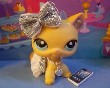 Littlest Pet Shop Lps * 5 Pc * Accessories Clothes Custom Skirt Outfit Phone Bow