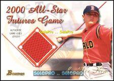BOWMAN 2001 SUN WOO KIM MLB BOSTON RED SOX ALL STAR FUTURE GAME JERSEY #FGRSK
