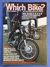 Which Bike? - Jan 1979 #30 - Laverda 175 LZ - NVT Rambler 175 - Triumph T140