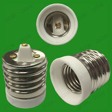 Cerámica De Calidad E40 Goliath E27 Rosca Edison sostenedor de la lámpara Adaptador Luz Convertidor