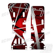 T-Maxx / E-Maxx INTEGY Skid Plate Protectors Death Metal Red - Traxxas